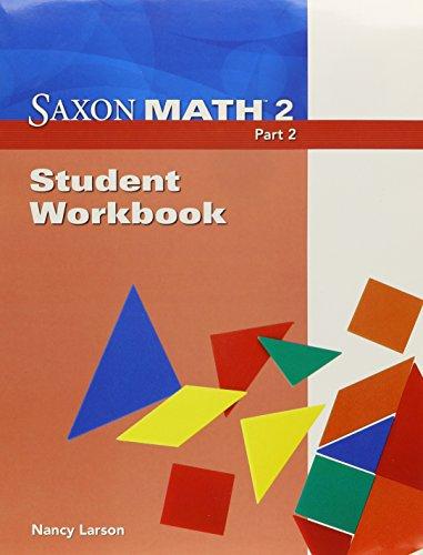 9781600325779: Saxon Math 2, Part 2: Student Workbook
