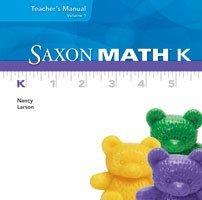 9781600327179: Saxon Math K: Individual Student Unit