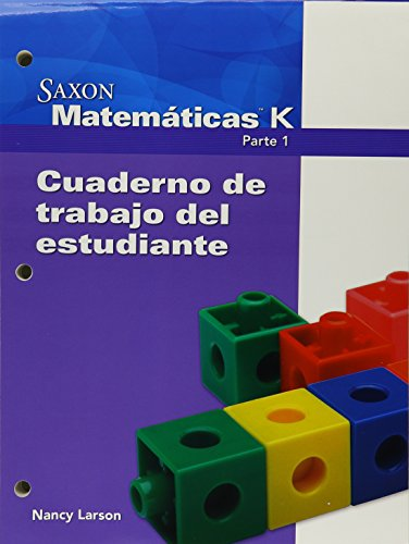 9781600327186: Saxon Math K Spanish: Individual Student Unit (Spanish Edition)