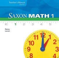 9781600327193: Saxon Math 1, Vol. 3