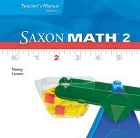 9781600327216: Saxon Math 2: Individual Student Unit