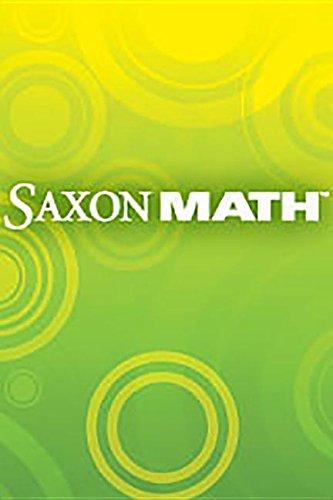 Saxon Math K: Technology Pack: SAXON PUBLISHERS