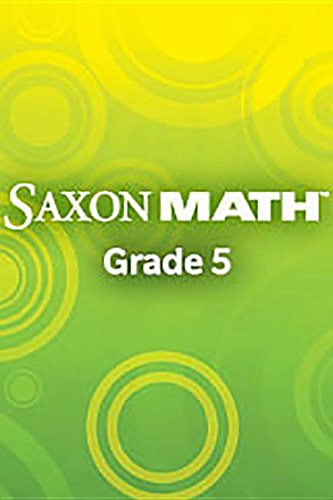 9781600329661: Saxon Math Intermediate 5, 2 volumes, Teacher's Edition