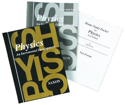 9781600329753: Saxon Physics: Homeschool Kit w/Solutions Manual First Edition