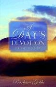 A Day's Devotion From Denver: Barbara Gobbs