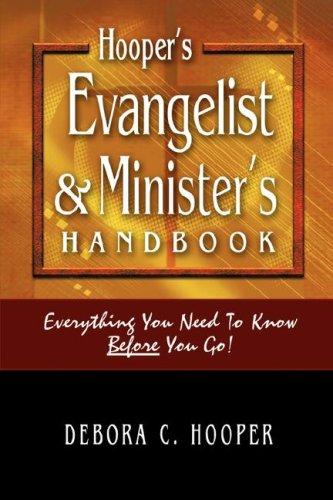 9781600346996: Hooper's Evangelist and Minister's Handbook