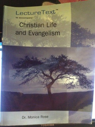 9781600361227: Christian Life and Evangelism