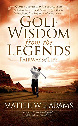 9781600378652: Golf Wisdom From the Legends (Sports Professor)