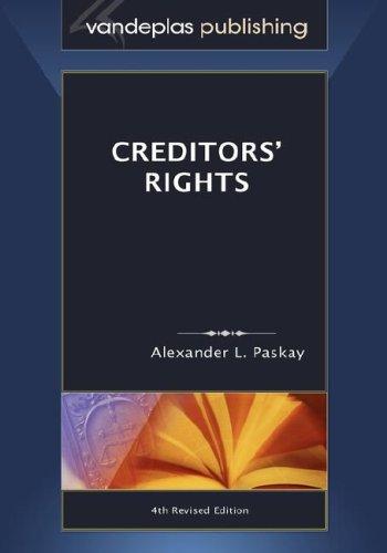 9781600420078: Creditors' Rights