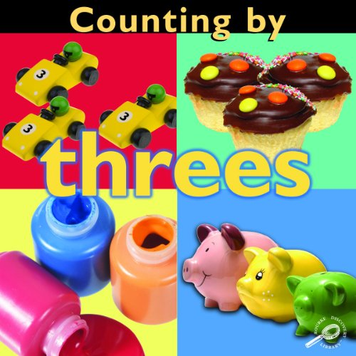 Counting by Threes (Concepts) (Concepts (Hardcover Rourke)): Esther Sarfatti