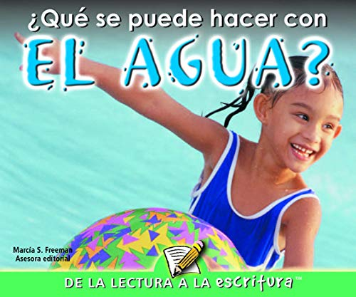 9781600448270: Que Se Puede Hacer Con El Agua? / What Can You Do With Water? (Readers for Writers - Emergent) (Spanish Edition)