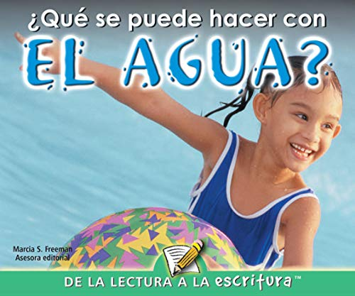 9781600448638: Que se puede hacer con el agua? / What Can You Do With Water? (Readers For Emergent Writers) (Spanish Edition)