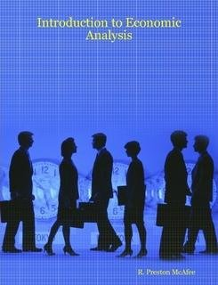 9781600490002: Introduction to Economic Analysis