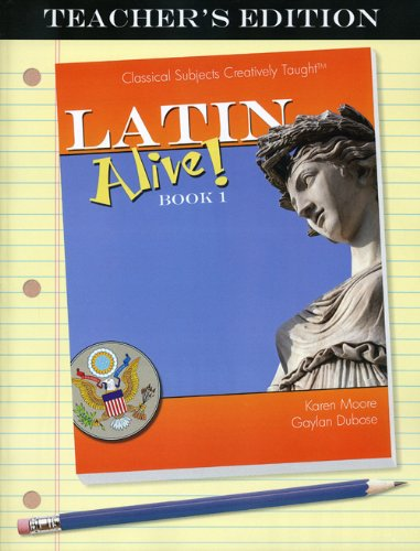 9781600510557: Latin Alive! Book One Teacher's Edition