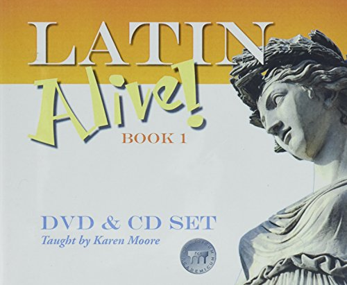 9781600510595: Latin Alive! One - CD & DVD Set (English and Latin Edition)