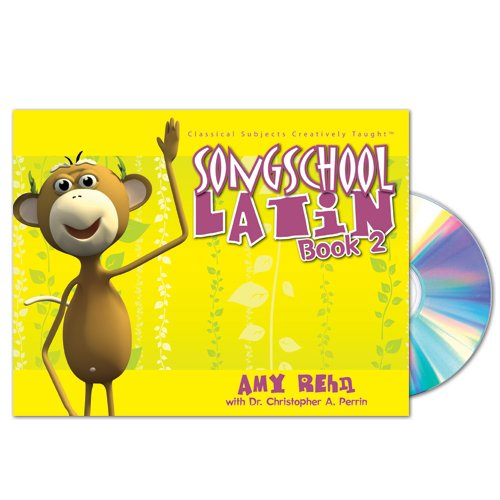 Song School Latin Book 2 Student Edition With Song Cd (latin Edition)