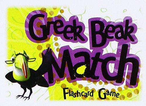 9781600510977: Greek Beak Match Card Game (Ancient Greek Edition)