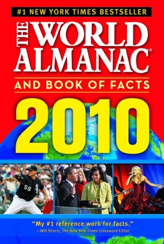 9781600571268: World Almanac and Book of Facts 2010