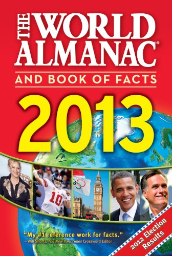 The World Almanac and Book of Facts 2013 (Hardback): World Almanac