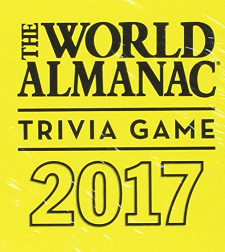 9781600572104: The World Almanac 2017 Trivia Game (World Almanac and Book of Facts)