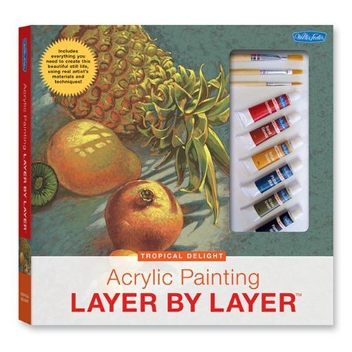 Acrylic Painting Layer by Layer: Tropical Delight Kit: Tavonatti, Mia