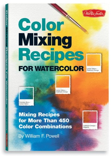 9781600580161: Color Mixing Recipes for Watercolor