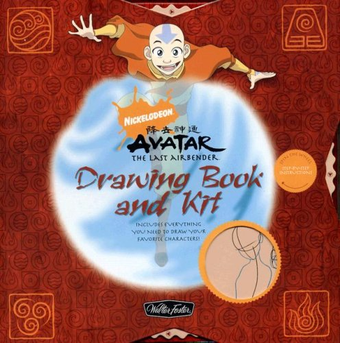 9781600580604: Avatar: The Last Airbender Drawing Book and Kit (Nickelodeon Drawing Books & Kits)