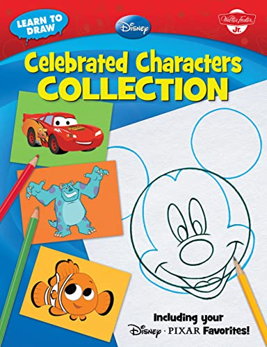 9781600581441: Learn to Draw Disney: Celebrated Characters Collection: Including Your Disney/Pixar Favorites! (Learn to Draw (Walter Foster Paperback))
