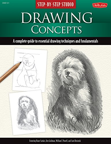9781600581496: Step-by-Step Studio: Drawing Concepts: A complete guide to essential drawing techniques and fundamentals