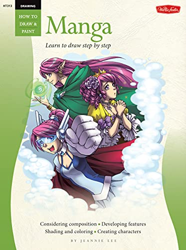 9781600581939: Drawing: Manga: Learn to draw step by step (How to Draw & Paint)