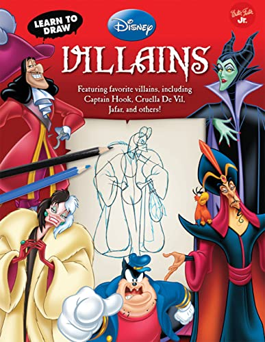 9781600582615: Learn to Draw Disney's Villains: Featuring favorite villains, including Captain Hook, Cruella de Vil, Jafar, and others! (Licensed Learn to Draw)