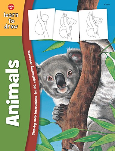 9781600583551: Learn to Draw Wild Animals (Learn to Draw (Walter Foster Paperback))