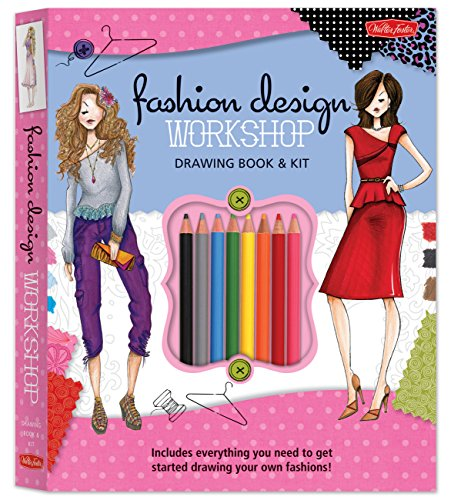Fashion Design Workshop Drawing Book & Kit: Includes everything you need to get started drawing...