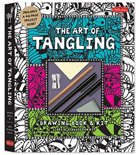 9781600583872: The Art of Tangling Drawing Book & Kit: Inspiring drawings, designs & ideas for the meditative artist (Craft)