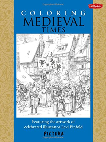 9781600584039: Coloring Medieval Times