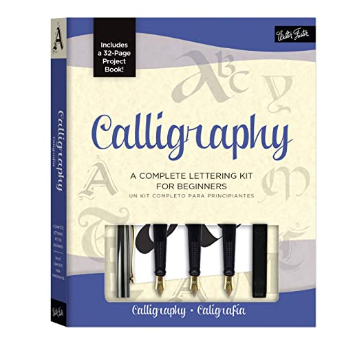 9781600584060: Calligraphy Kit: A complete kit for beginners