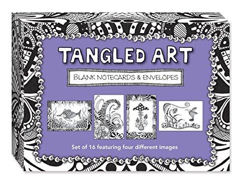 Tangled Art Blank Note Cards & Envelopes: Raile, Penny