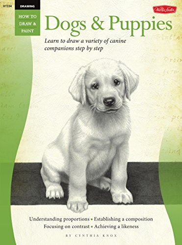 Drawing: Dogs & Puppies: Learn to draw a variety of canine companions step by step (How to Draw...