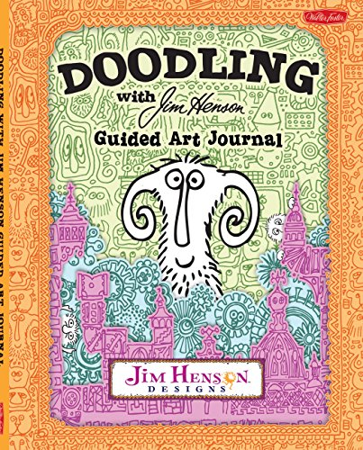 Doodling with Jim Henson Guided Art Journal: Team, Walter Foster Creative