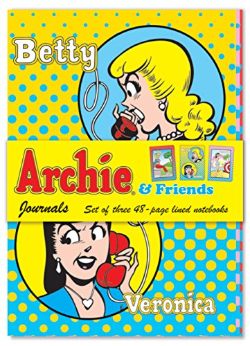 9781600584640: Archie & Friends Journals: Set of three 48-page lined notebooks
