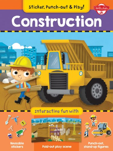 Construction: Interactive fun with fold-out play scene,: Walter Foster Custom