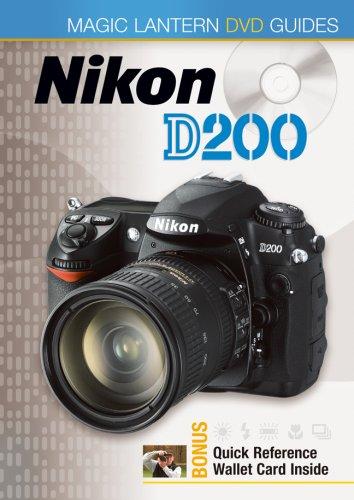 9781600590801: Magic Lantern DVD Guides: Nikon D200