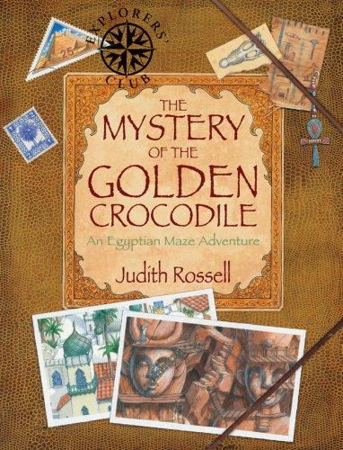 9781600591181: The Mystery of the Golden Crocodile: An Egyptian Maze Adventure (Explorers Club)