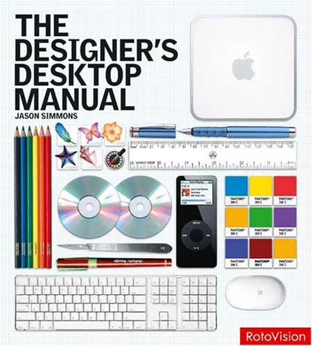 The Designer's Desktop Manual 9781600610172 The best practice, technical desk reference for all professional designers and aspiring pros. Perfect for professional designers, aspiring pros, and design students alike. The Designer's Desktop Manual explores, topic by topic, the essential aspects of key areas of print and screen based design-type and typography; color; imaging; layout; and printing, from the most basic, introductory techniques and principles, to more advanced practices, via step-by-step projects and inspirational examples. This in-depth guide offers insight into the technological issues and step-by-step skills needed to bring design to a professional standard. Readers will also find historical background on key topics, allowing them to put up-to-date techniques into context with the evolution of design.