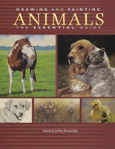 9781600611100: Drawing and Painting Animals: The Essential Guide