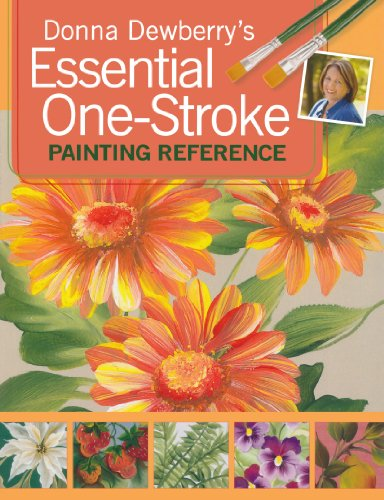9781600611315: Donna Dewberry's Essential One-Stroke Painting Reference