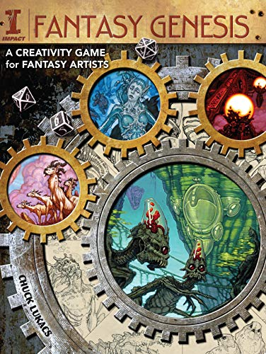 Fantasy Genesis: A Creativity Game for Fantasy Artists: Lukacs, Chuck