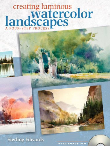 Creating Luminous Watercolor Landscapes with DVD