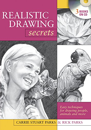 9781600617584: Realistic Drawing Secrets (CD): Easy Techniques for Drawing People, Animals and more