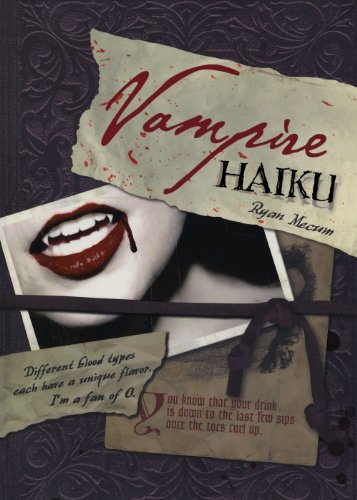9781600617720: Vampire Haiku